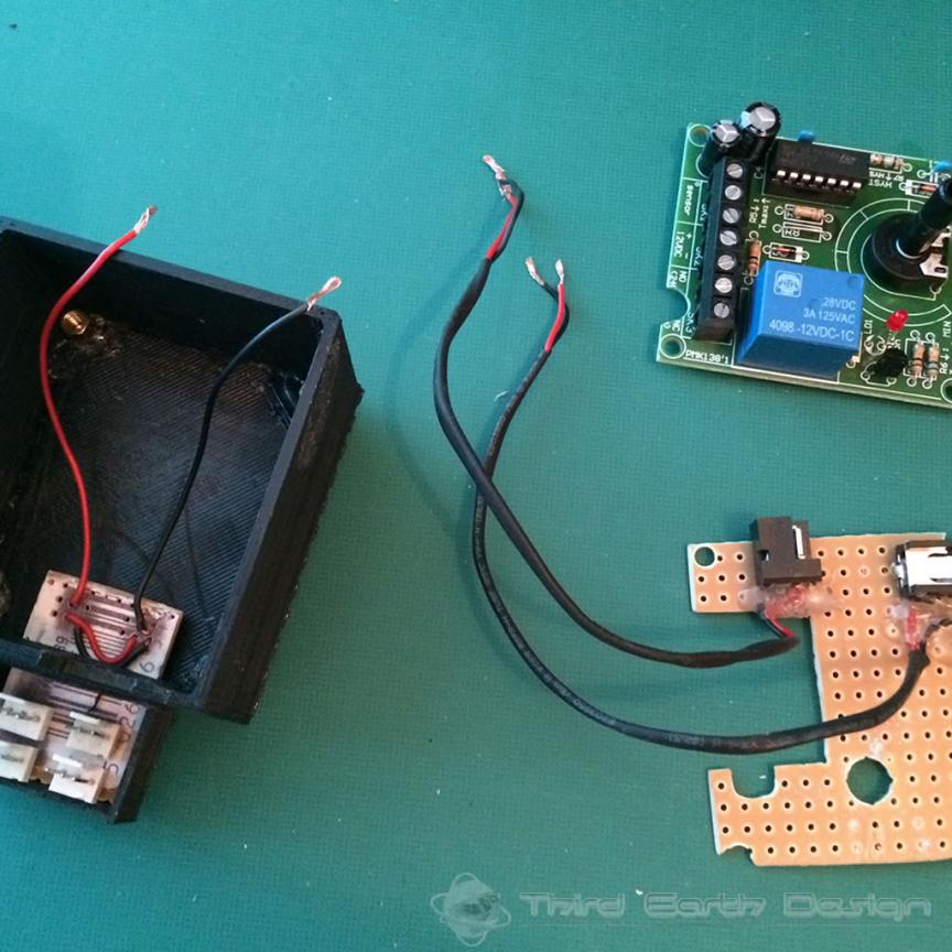 Thermostat Controlled Fan Cooling System for Enclosed A/V Furniture ...